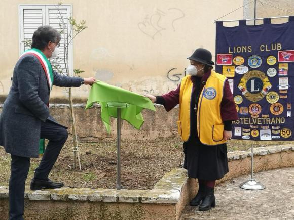 Campobello, il Lions club mette a dimora 5 nuovi alberi