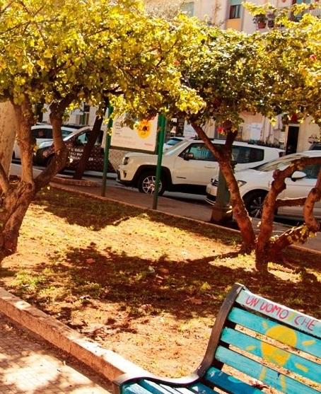 Marsala. Sistemata la piazza Francesco Pizzo