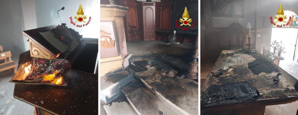 Marsala. Attentato incendiario al Santuario di contrada Birgi Nivaloro
