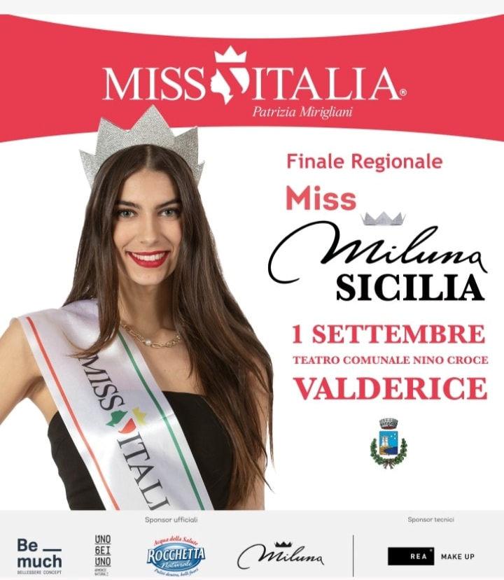 A Valderice l'elezione di Miss Miluna Sicilia per il concorso Miss Italia