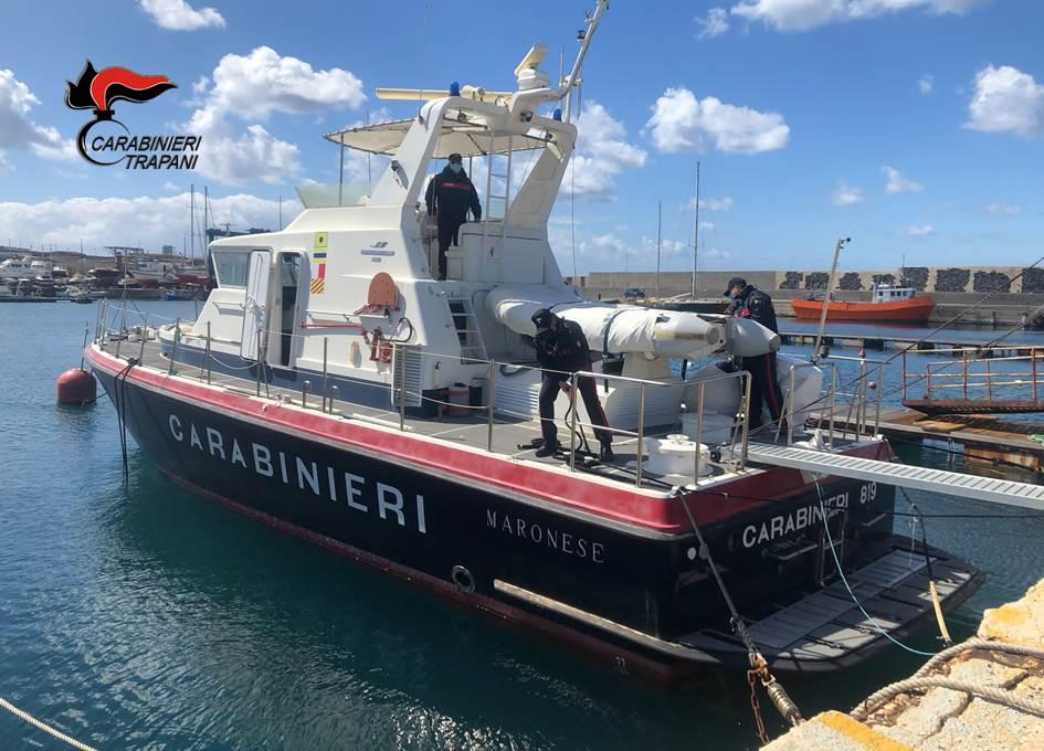 Pantelleria: sicurezza alimentare, sanzioni e sequestri da parte dei carabinieri del servizio navale