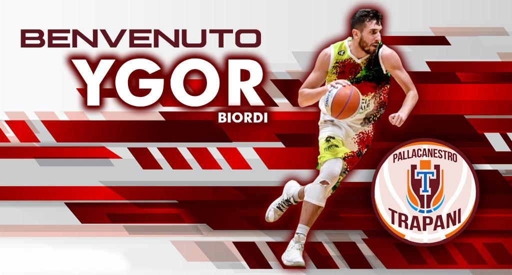 La Pallacanestro Trapani firma Ygor Biordi