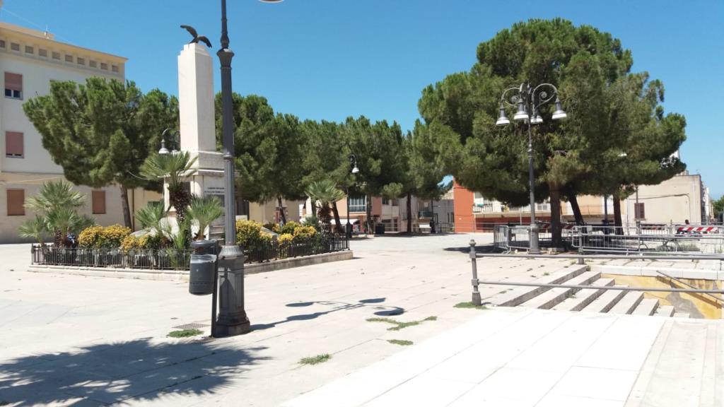 Paceco, al via completamento della piazza Vittorio Emanuele