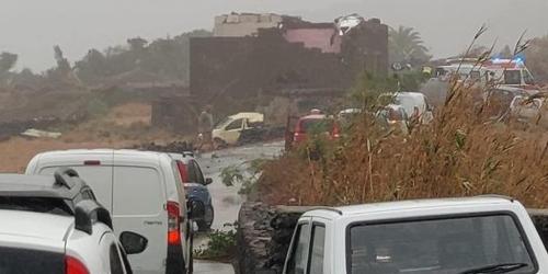 Tromba d'aria a Pantelleria: due morti e nove feriti