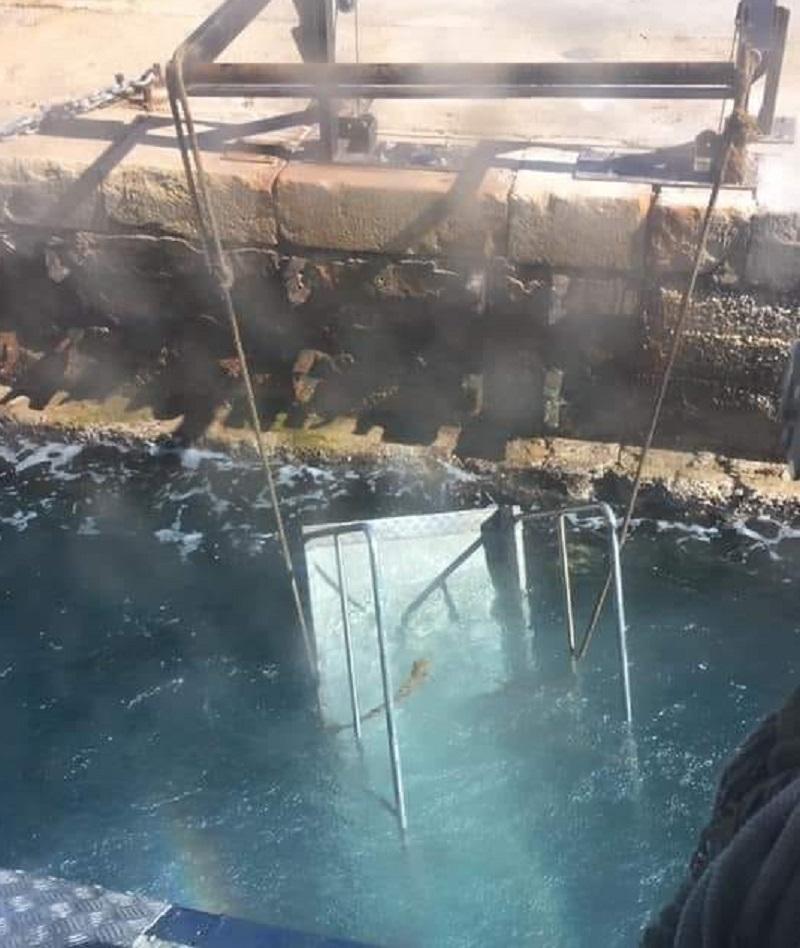 Passerella in mare per la seconda volta a Favignana, interviene il sindaco