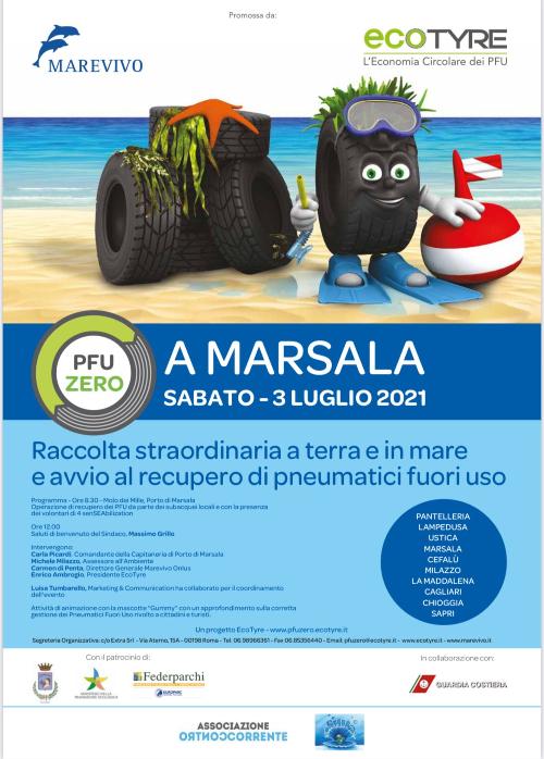 Marsala: il comune a sostegno dell'associazione Marevivo