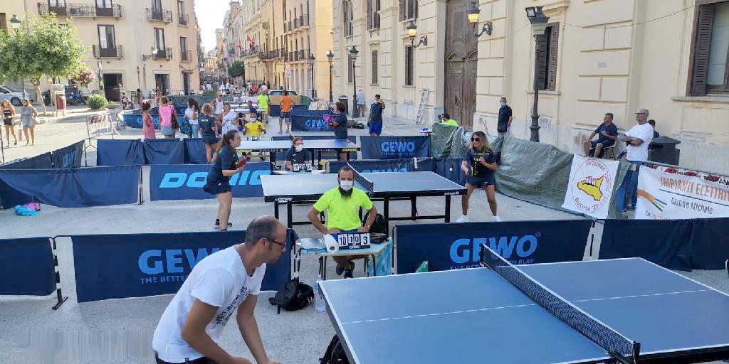Due giorni di ping pong a Trapani
