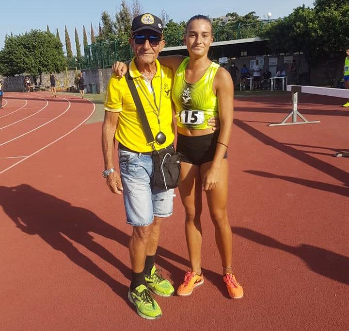 Gilda Arceri del Real Paceco sabato ai campionati nazionali Fidal