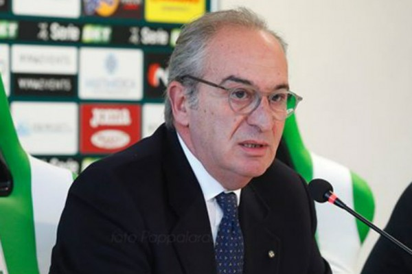 Trapani calcio, le dichiarazioni del Presidente Pino Pace
