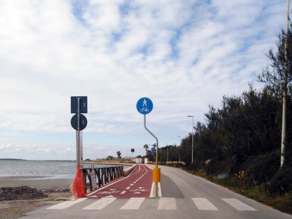 Marsala: pista ciclabile, bus navetta di collegamento per gli imbarcaderi