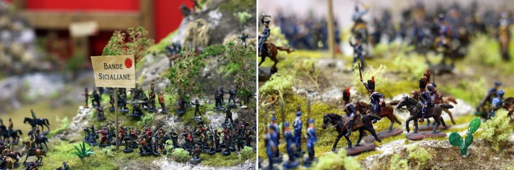 La battaglia di Calatafimi ricostruita in un plastico al museo di Pianto Romano
