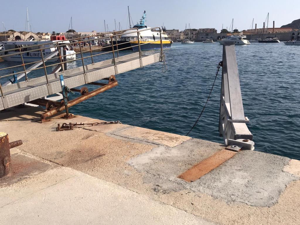 Favignana, il sindaco chiede maggiori controlli alla Capitaneria di Porto