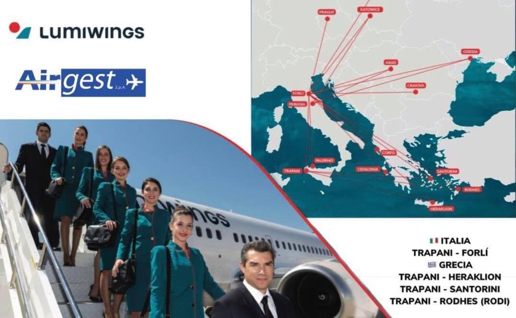 Aeroporto Birgi: presentati i nuovi voli Lumiwings