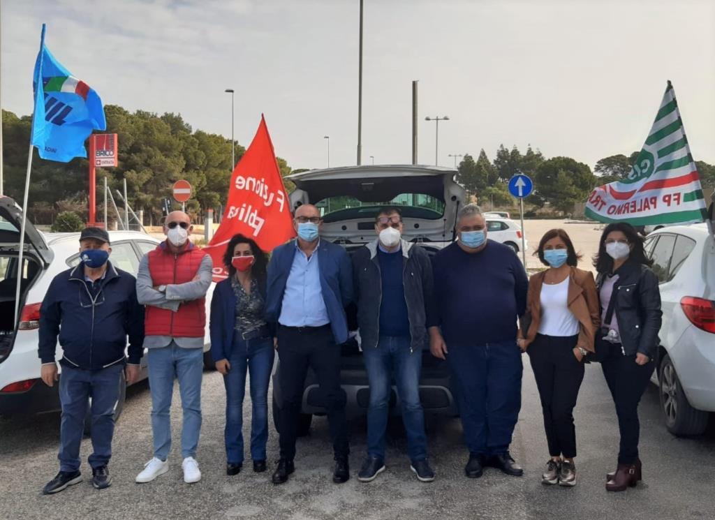 Sicurezza, rinnovo dei contratti e assunzioni nella sanità: presidio dei sindacati a Marsala