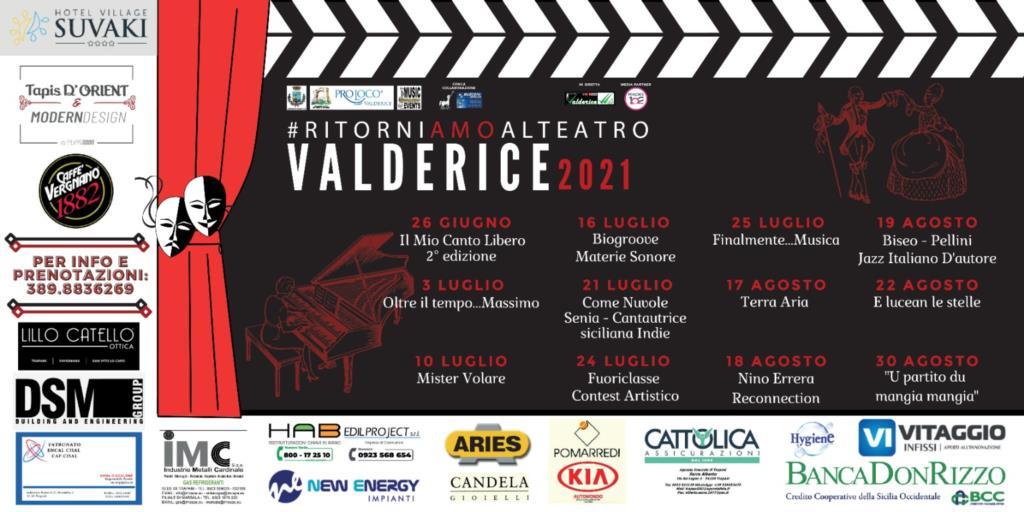 #RitorniAMO al teatro Valderice 2021