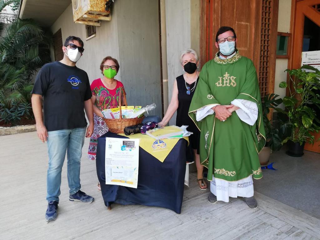 L'Azione cattolica raccoglie materiale didattico per gli alunni trapanesi