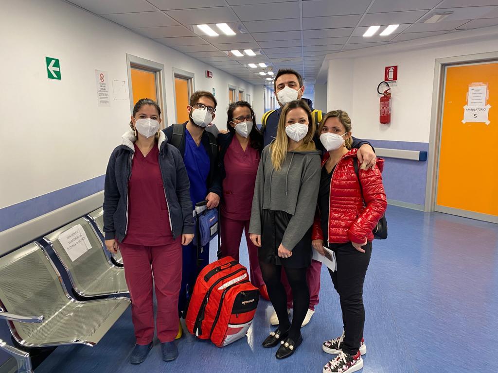 Primi vaccinati al Covid Hospital di Marsala