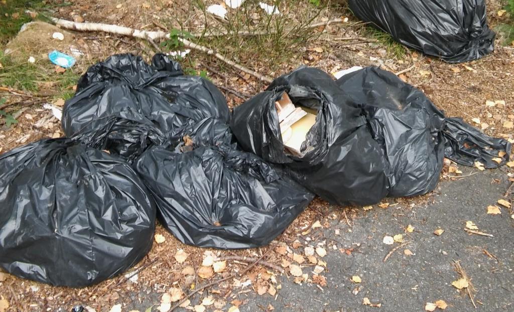 Abbandono dei rifiuti, sanzioni per 1500 euro