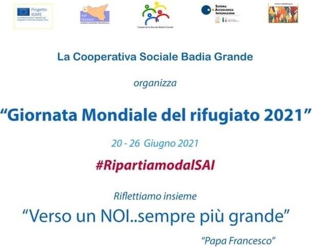 Giornata del rifugiato, evento conclusivo oggi a Marsala