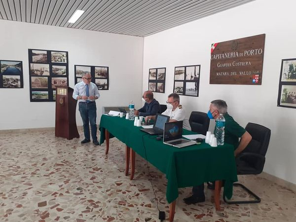 Progetto Tunisia-Italia di Terna: riunione in Capitaneria a Mazara
