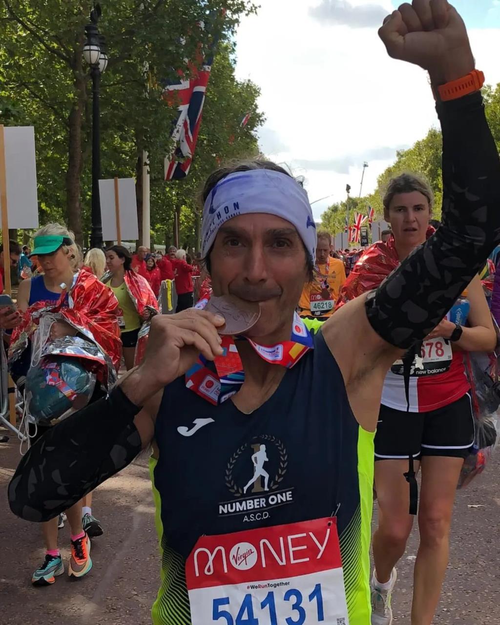 Grande prova di un atleta trapanese alla maratona di Londra