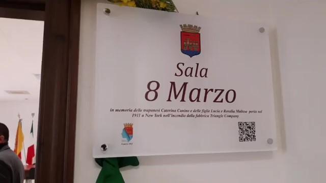 Inaugurata a Palazzo Cavarretta la sala «8 Marzo»
