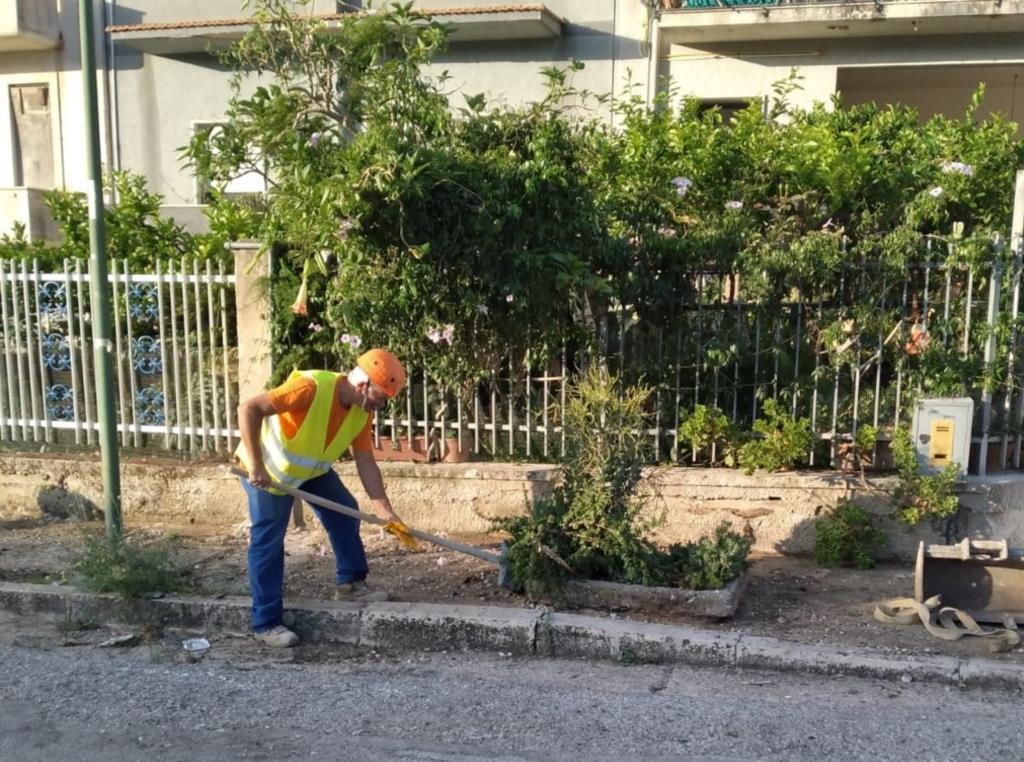 Salemi, al via i cantieri per la pulizia e il rifacimento dei marciapiedi