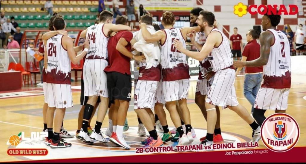 Domani si gioca Gruppo Mascio Blu Basket Treviglio - 2B Control Trapani