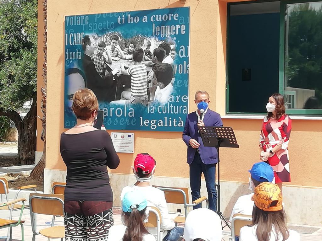 Trapani, intitolata scuola a don Milani