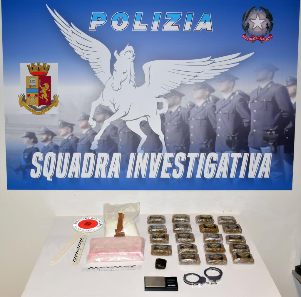 Operazione antidroga a Mazara 2: sequestrati 2 chili e mezzo di stupefacenti