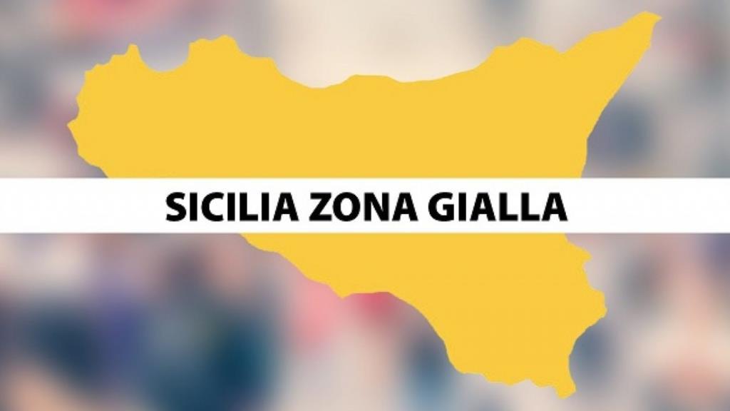 La Sicilia indossa il giallo