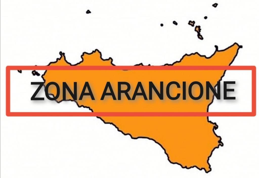 La sicilia resta zona arancione, dati in miglioramento