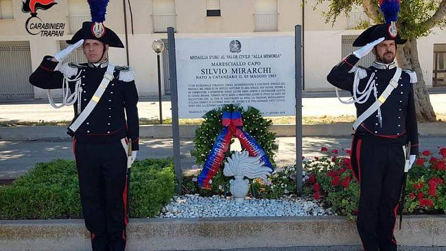 Marsala ricorda il maresciallo Silvio Mirarchi