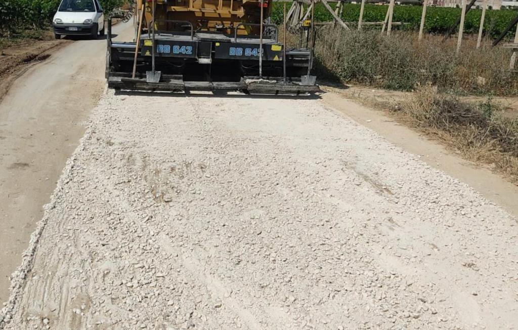 Marsala: al via i lavori di rifacimento della strada che da Birgi porta all'Incanto