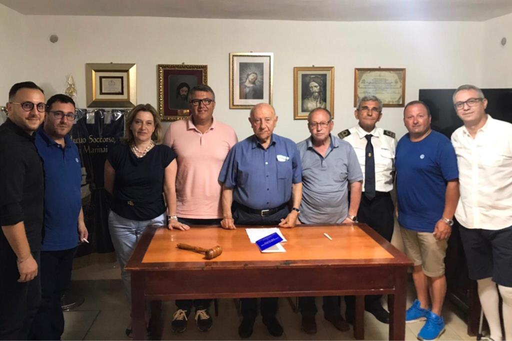 Bosco e Grimaudo riconfermati alla guida della società di mutuo soccorso marinai