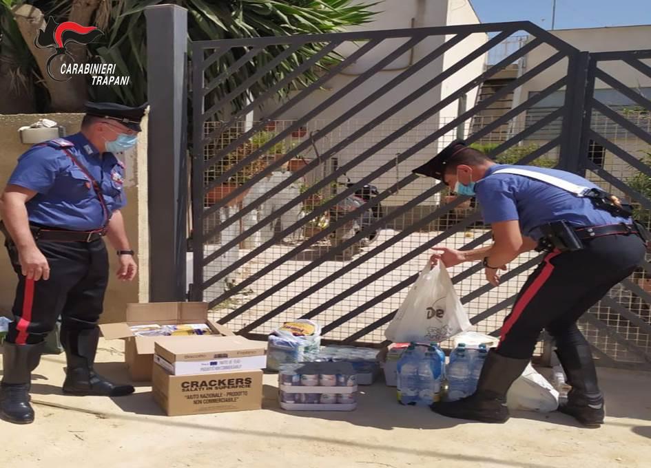 Mazara, il COVID non ferma la solidarietà dell'Arma dei Carabinieri