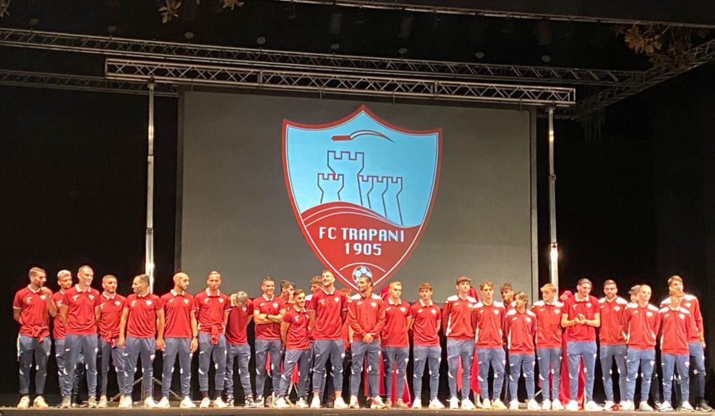 Tanto entusiasmo alla presentazione dell' FC Trapani 1905 (VIDEO)