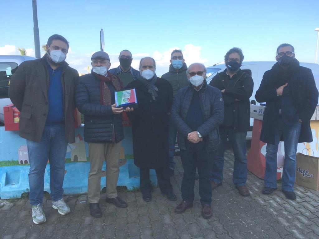 Consegnate delle targhe di ringraziamento al personale sanitario degli ospedali di Marsala e Mazara del Vallo