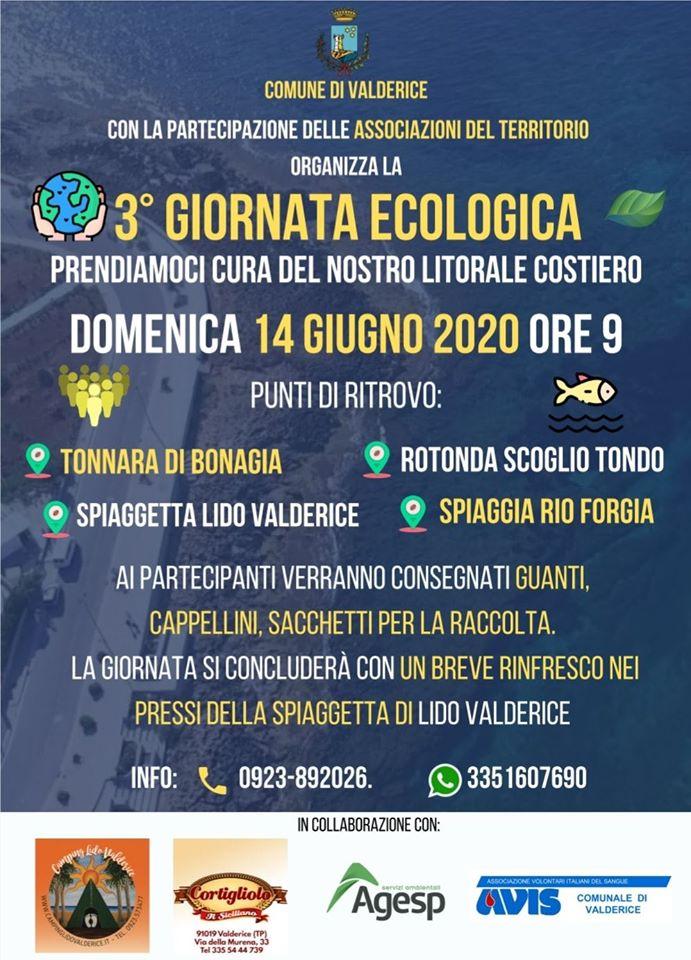 In programma domani la terza giornata ecologica a Valderice