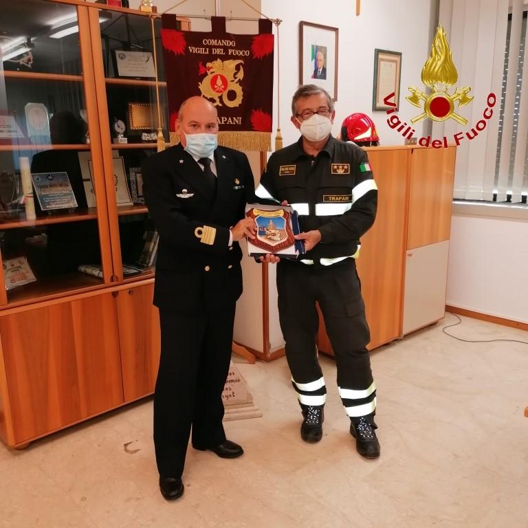 Incontri istituzionali del Comando Provinciale dei Vigili del Fuoco