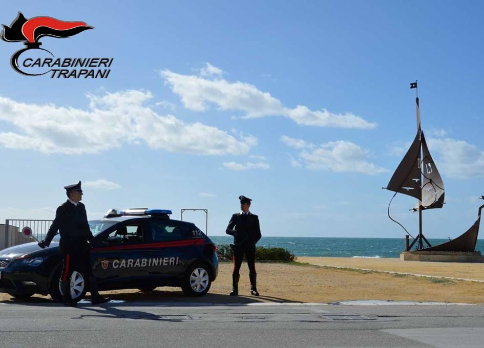Mazara del Vallo: controlli dei carabinieri, pioggia di sanzioni e una denuncia