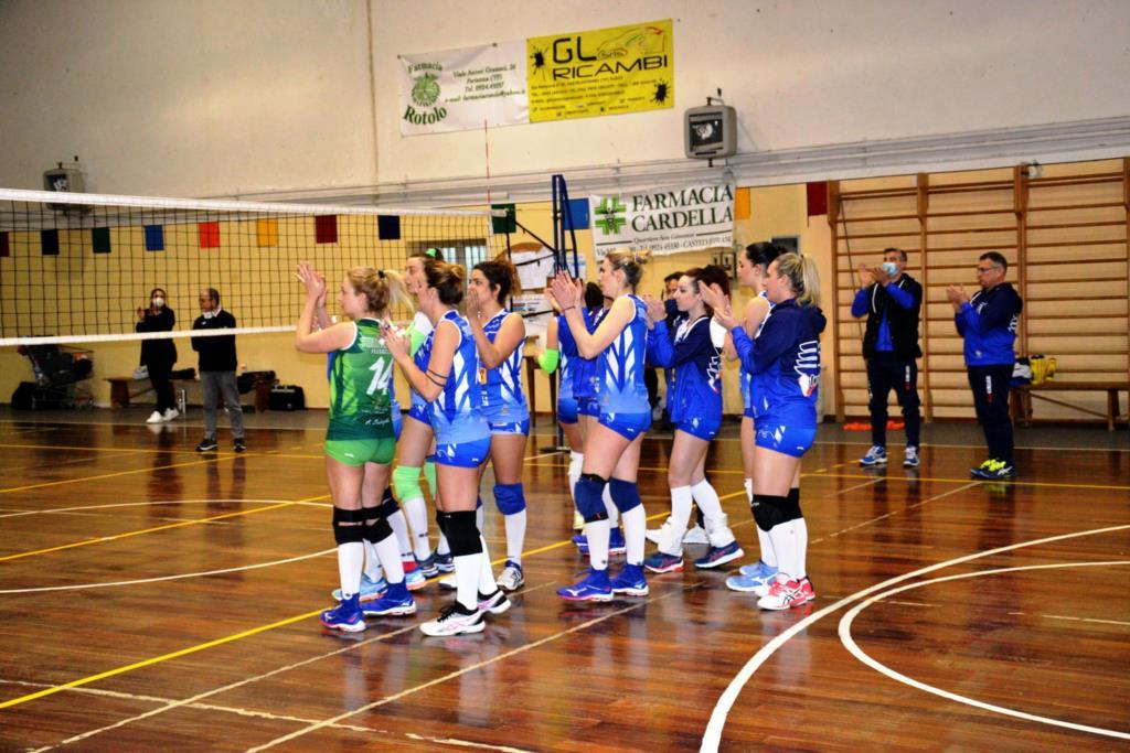 Volley Femminile, perde la vetta la Tonno Auriga Ericina
