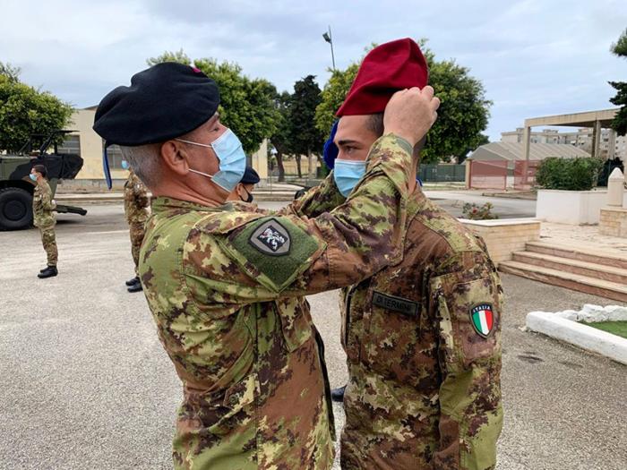 In Sicilia il comandante delle forze operative Sud dell'esercito