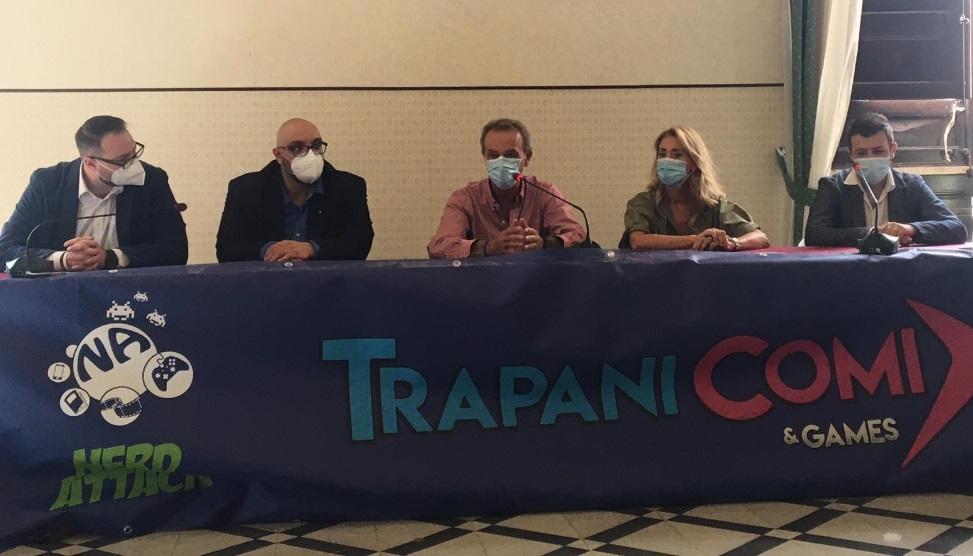 """Presentato il """"Trapani Comix"""", tre giorni alla Villa Margherita tra giochi, fumetti e divertimento"""