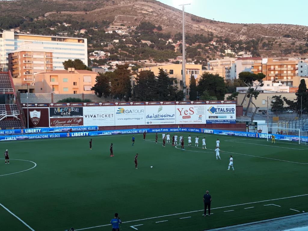 Uno strepitoso Trapani batte il Pordenone 3-0