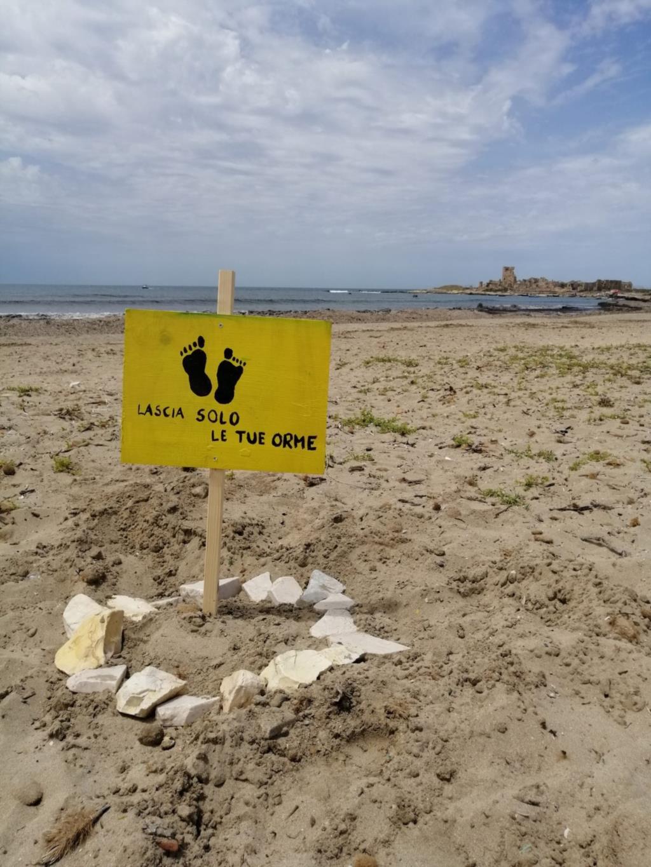 Trapani: atti vandalici nel litorale di Punta Tipa