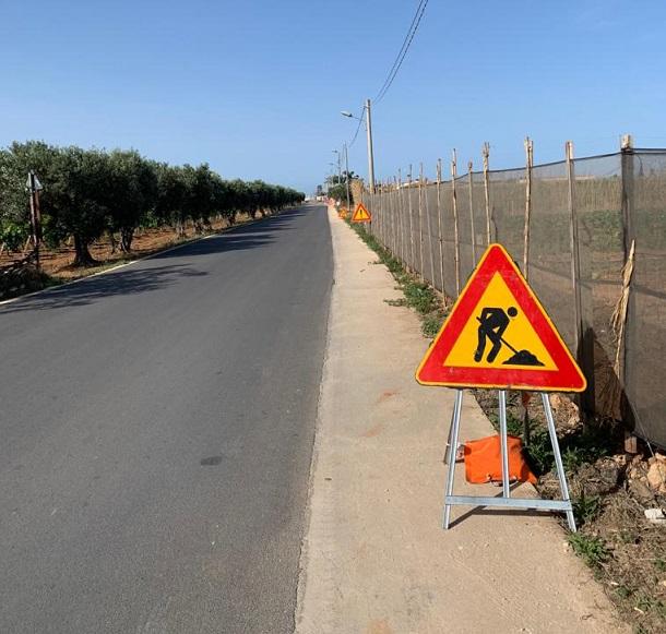 Petrosino, iniziati i lavori di sistemazione in via Regione Siciliana