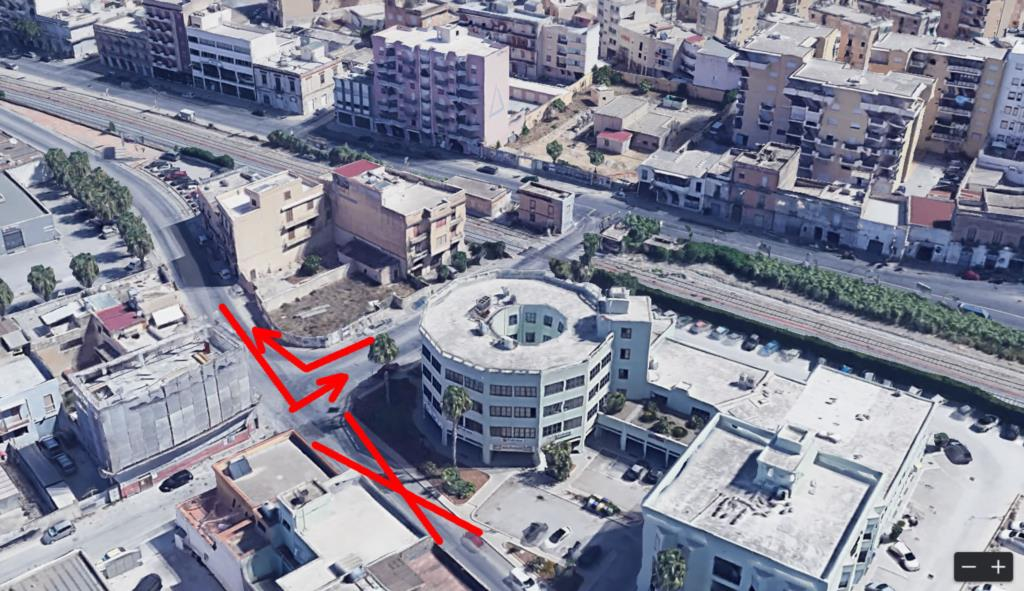 Trapani, lavori in via libica traffico deviato