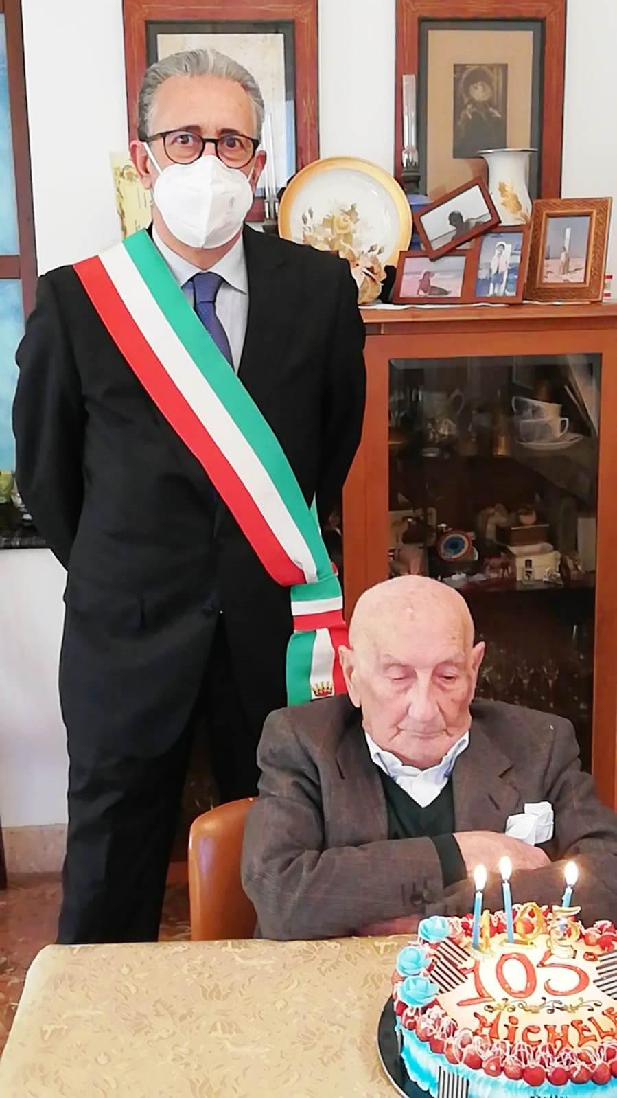 Marsala, nonno Michele compie 105 anni