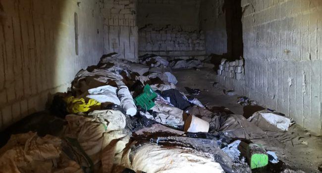 Marsala: rifiuti sotto terra nella periferia sud, sequestrata azienda di smaltimento plastica